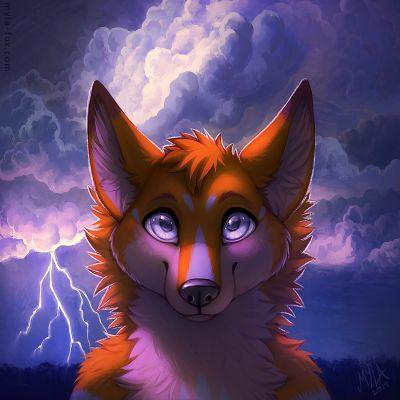 Storm Icon YCH by MylaFox